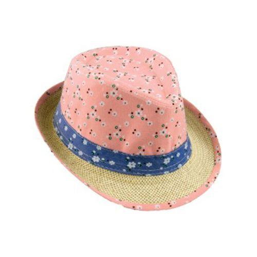 Cappello Alpinetto Poliestere Fiorellini