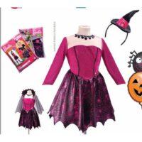 Costume Barbie Strega Fashion Tg.8-10