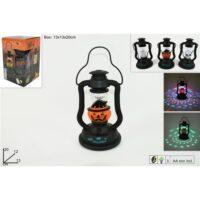 Lanterna Halloween C/luci E Suoni        13x12x20cm