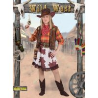 Rodeo Girl Costume (5-7 Anni)