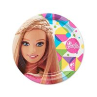 Barbie Sparkle Piatto Piano Cm.23 Pz.8