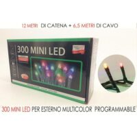 300 Mini Led  Multicolor X Esterno Prog.