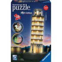 Puzzle 3d Torre Pisa Night Edition +10a  Ravensburger - 216pz - 33cm