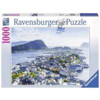 Puzzle Pz.1000 Vista Su Alesund          Ravensburger