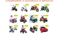 moto e macchine a batteria