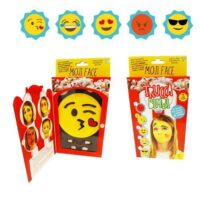 Truccabimbi Moji Face +3anni  14x25x3cm  5 Colori+spugnetta+pennellino+applicator