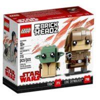 Lego Brickheadz 10+ Luke Skywalker E Yod