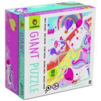 Ludattica Giant Puzzle Magic Unicorn