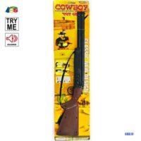 Set Fucile Cowboy C/suono Try Me 14x77cm +3anni   Fucile:68cm