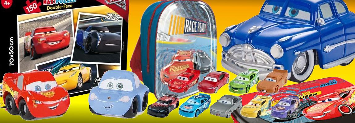 Cars Giocattoli, oggettistica, Scuola, Feste e Party