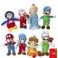 Super Mario C/amici Peluche 30cm - 8 Ass
