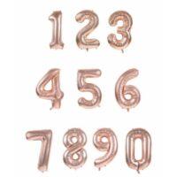 Palloncino Shiny N.0 Cm.102 Rose Gold