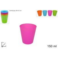 Bicchieri Plastica Set 8pz
