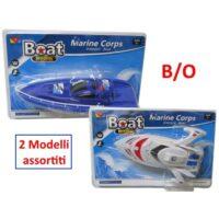 Blister Motoscafo Marine Corps 33x22cm   +3anni