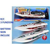 Destriero Sport Blu R/c 3funzioni        46cm - Controlli Semplificati