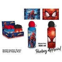 Borraccia Alluminio 500 Ml Spider-man
