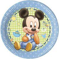 Piatti Cm.23 Pz.8 Baby Mickey