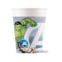 Bicchiere Carta 200ml Compost Avengers