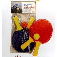 Tennis Da Tavolo 26cm Con Pallina Incl.  In Plastica 2 Colori Assortiti