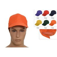 Cappellino 6 Colori Ass