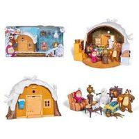 Masha E Orso Playset Winter Bear's House