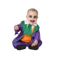 Costume Clown Baby 6-12 Mesi