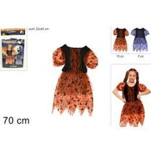 Vestito Halloween 70cm 2colori 1-2 Anni