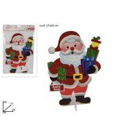 Babbo Natale Cartonc.35cm Buon Natale 66 -3/50-3/58-3/buon Natale